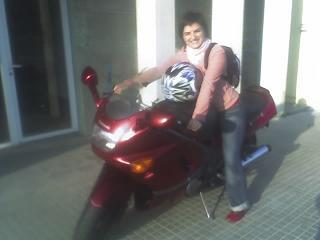 Com a motos...