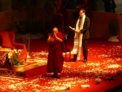 El Dalai Lama a Barcelona